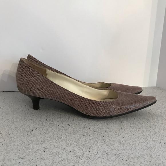 8a18799a507 Calvin Klein kitten heel pumps